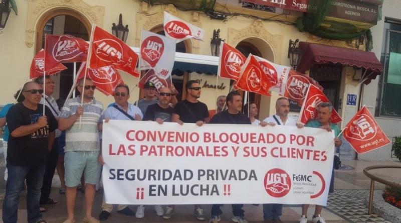 UGT en defensa de los trabajadores de la Seguridad Privada de Ceuta